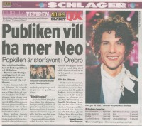 NEO i Melodifestivalen